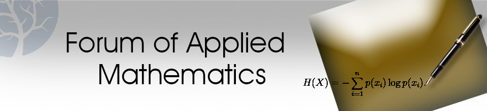Forum of Applied Mathematics